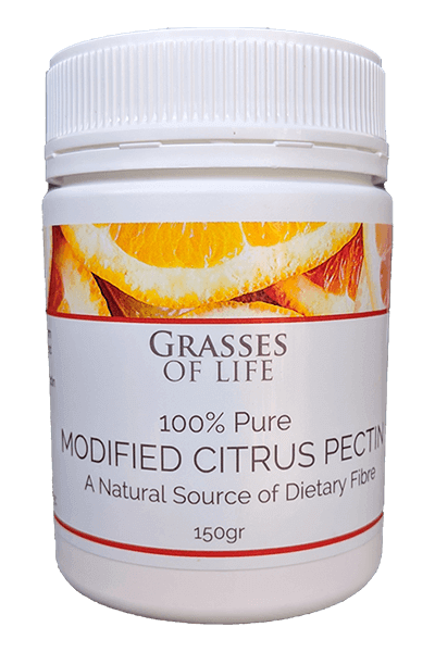 Australian Packed Modified Citrus Pectin 150gr German Manufactured