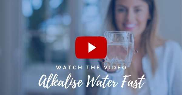 Alkalise water fast WITH Activated Silica
